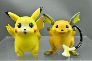 Pokemon Tomy Pikachu Raichu CGTSJ Monster Collection Figure