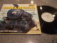 Railroad Sounds Steam and Diesel LP