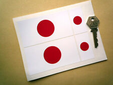 Japan National Flag 4in & 2in Car stickers TOYOTA Honda