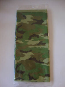 Camouflage Party Tablecloths For Sale Ebay