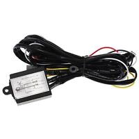 New DRL Daytime Running Light Relay Harness Auto Car Control On/Off Switch 12V