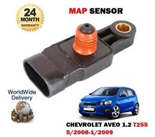 FOR CHEVROLET AVEO 1.2 2008-2009 MANIFOLD ABSOLUTE MAP PRESSURE SENSOR 96325870