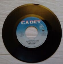 """Etta James - Almost Persuaded / Steal Away - Cadet Records - 5630 - 7"""" US Vinyl"""