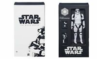"EXCLUSIVE STAR WARS THE BLACK SERIES SDCC FIRST ORDER STORMTROOPER 6"" FIGURE"