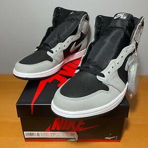 Nike Air Jordan 1 OG 11.5 DS Black White Smoke Grey Shadow 2021 Retro 555088-035
