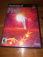 PlayStation 2 PS2 Game Rez Complete And Tested Very Good