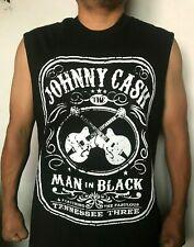 JOHNNY CASH PUNK ROCK BAND SLEEVELESS SHIRT
