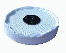 "Polishing Mop White Close Stitch 8""x1"" (200mm x 25mm)"
