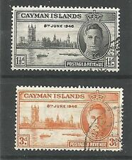 Used George VI (1936-1952) Caymanian Stamps