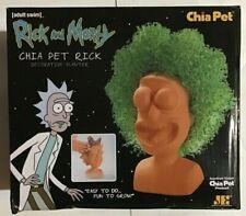 Chia Pet Rick Decorate Planter, Rick & Morty - NEW opened box