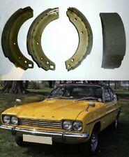 FORD Capri Mk1 (2600, 3.0, 3000, 3 Litre, 3.1RS ) REAR BRAKE SHOES SET (1969-74)