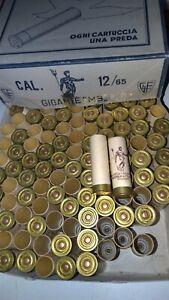 Circa 100 Bossoli Fiocchi cartone calibro 12 H.65mm. Per armi da caccia