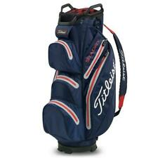 New- Titleist Lightweight Stadry Navy/Grey/Red Golf Trolly Bag.