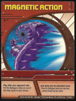 BAKUGAN Battle Brawlers Battle Planet HOT POTATO ACTION Card 95/_RA/_BB