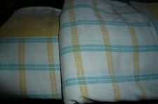 Karierte Bettwäschegarnituren für 95 ° - Wäsche aus 100% Baumwolle