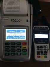First Data FD200ti Credit Card Terminal with New FD-35 PIN pad