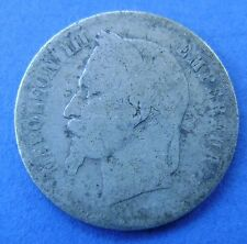 Frankrijk - France : 50 centimes 1865 A - Napoleon III - KM# 814.1
