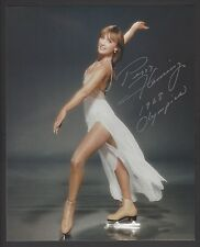 "Peggy Fleming printed signature 8"" x 10"""
