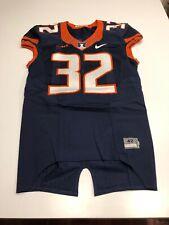 Game Worn Used Illinois Fighting Illini Football Jersey Nike Size 42 #32