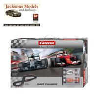 Carrera CA25219 Race Champs F1 Mercedes/Ferrari 5.3m Slot Car Set 1:32 Scale