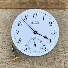 10s Gruen Pocket Watch Movement - Precision Chronometer Balance - 17 Jewels