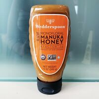 NWT Wedderspoon Raw Monofloral MANUKA HONEY Kfactor-16 12 oz Squeeze Bottle NEW!