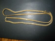 "1 24"" & 26"" Bx31 - Two Gold Chains"