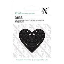 Xcut (Docrafts) Mini Paper Card Scrapbook Metal Dies (1pcs) - Filigree Heart