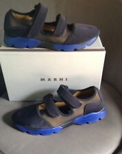 NIB $680 Men's MARNI Double Hook And Loop Sneaker Sport Sandal 42 (US 9 )