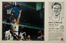 Dave Cowens CELTICS 1990 Boston Celtics Basketball CITGO poster Mike Wimmer art