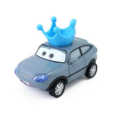 Disney Pixar Cars Darla Vanderson Piston Cup Blue Crown Fans Toy Model Car 1:55
