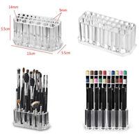 26 Holes Make Up Brush Storage Candle Holder Pots Cosmetic Pens Pencils Set Case