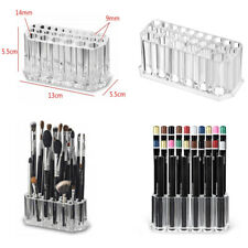 26 Holes Make Up Brush Storage Candle Holder Pots Cosmetic Pens Pencils Set Case