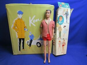 Vintage Mattel Barbie's Boyfriend Ken Lot Doll & Accessories Case Original Box