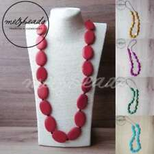 Wooden Turquoise Fashion Necklaces & Pendants