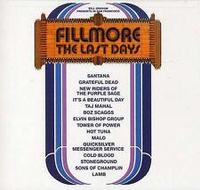"Fillmore: the Last Day (reissue Coloured 3 LP BOX + 7"")"