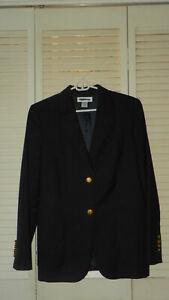 NWT BROOKS BROS 100% Loro Piana Wool Single Breasted Blazer Sz  10  MSRP: $348.