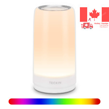 LED Touch Table Lamp Bedside Lamp Desk Lamp Night Light for Adults Kids Dimma...
