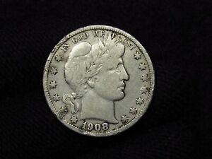1908-S Barber Half Dollar HIGH DETAIL SILVER COIN