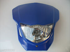 Motorcycle Enduro Motocross Streetfighter Headlight Yzf Xt Drz Ttr Dtr Wr Wrf Yz