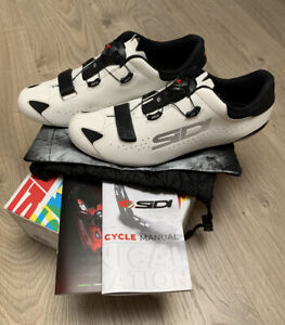 Sidi sixty cycling road shoes EU44.5 Used Once IMMACULATE condition RRP £350