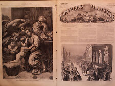 L' UNIVERS ILLUSTRE 1864  N 314 CONFIT DANO-ALLEMAND: ENTREE A BERLIN DES CANONS
