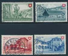 Schweiz Nr. 508-511 gestempelt, Pro Patria 1948 (39110)