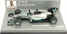 F1 1/43 MERCEDES GP W05 HAMILTON AUSTRALIAN GP WORLD CHAMPION 2014 MINICHAMPS