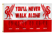 Liverpool Fc Flag Banner 3X5Ft You'll Never Walk Alone Champions League 2019