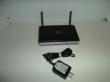 D-Link 4-Port Wireless-N Router Switch 10/100 300Mbps QoS DHCP WPA2 VPN DIR-615