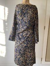 Dries Van Noten Silk Leopard Print Dress, Size Fr 38 (uk10)