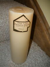 """NEW 9"""" pillar candle from The Old Candle Barn in Intercourse, PA Vanilla Scent"""
