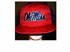 NWT Navy & Red NIKE University of Mississippi OLE MISS REBELS Adjustable Hat