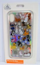 Disney Exclusive Dogs & Cats Stitch & Cheshire Apple Iphone XS Max Case NEW CUTE